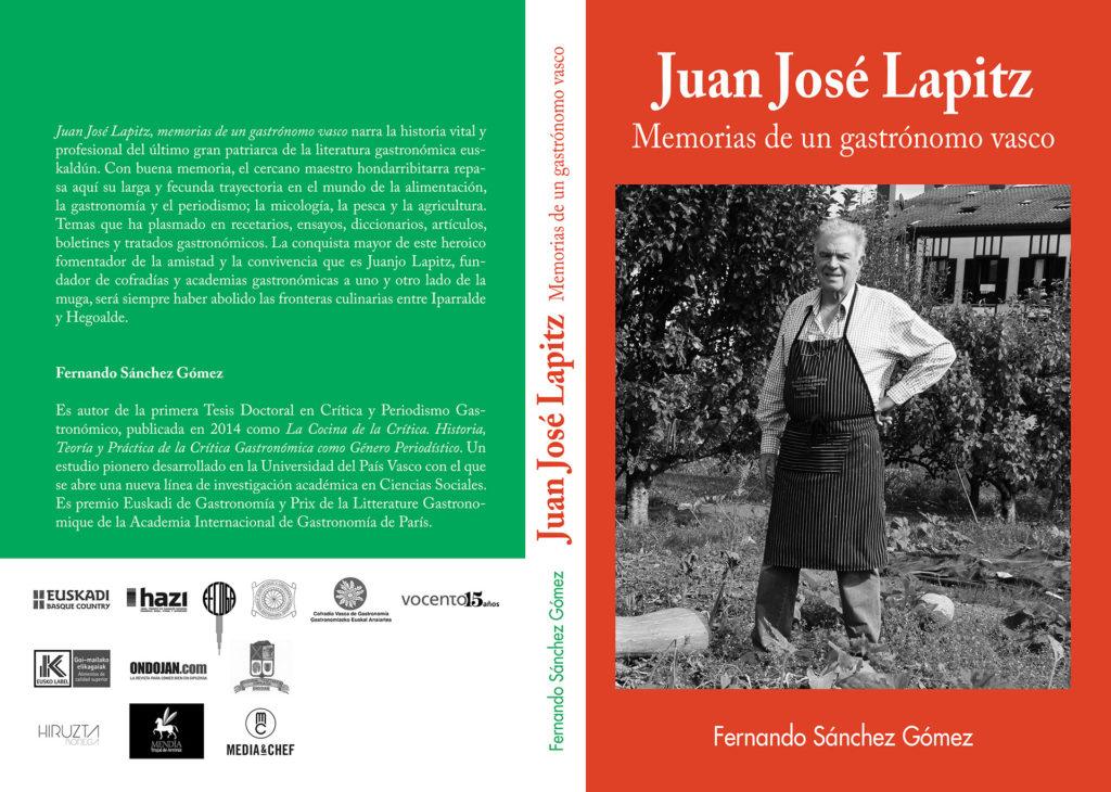 Juan José Lapitz, Memorias de un gastrónomo vasco